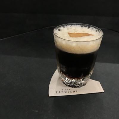 ジンジャーフォームドコーヒー