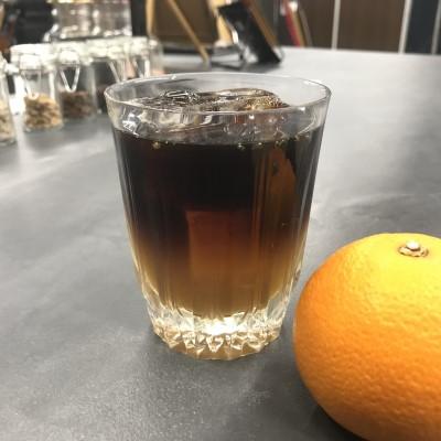 アイスオレンジコーヒー